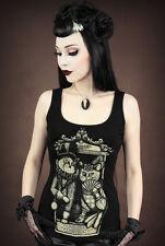 Restyle Tank Top Madame Katze Victorian Gothic Lolita Sir Cat Steampunk WGT RT6
