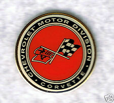 Automotive collectibles Chevrolet Corvette Logo (1973 style) tac-style pin
