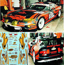 Dodge Viper Scorp Racing Lemans 2003 #68 1:3 2 Decal