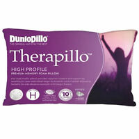 Dunlopillo-2 Pack Therapillo High Profile Memory Foam Pillows RRP $399.90