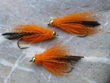 3 St PATTEGRISEN Streamer # 6 Fliegenfischen Meerforelle Goldforelle Hornhecht
