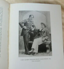 The Autobiography of Lord Alfred Douglas, 1929, first edition