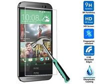 TEMPERED GLASS SCREEN PROTECTOR ANTI SCRATCH FILM For HTC ONE M9 UK FREEDISPATCH