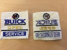 buick  opel  service VINTAGE,  patch,new old stock,1960's,no border