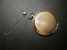 Antike CH.F.TISSOT & FILS LOCLE Herren Taschenuhr 585er Gold 14K 1920  69Gramm