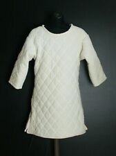 Medieval Armour Thick Padded White Gambeson Play Movies Theater Custome