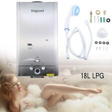 18L Propangas Gas LPG Durchlauferhitzer Warmwasserbereiter Warmwasserspeicher
