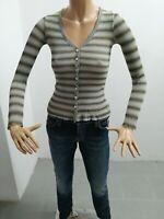 Maglia MAX & CO Donna T-shirt Woman Polo Femme Taglia Size S Manica Lunga 8211