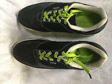 Black & Green Crocs golf shoes 10.5 medium