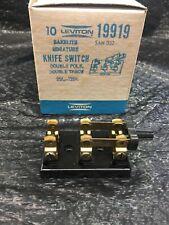 Box Of 10 Leviton Knife Switch