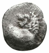 Koc Greek Coins.The Thracian Chersonese.circa 500 BC. Tetartemorion AR 7mm.0,31g