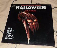 1983 Varese Sarabande John Carpenter's HALLOWEEN Soundtrack LP Record STV81176