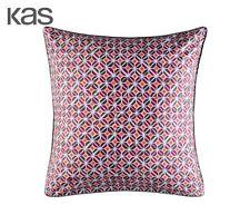 Cotton Sateen Geometric Pillow Cases