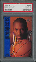 1996 Upper Deck SP Kobe Bryant PSA 9 #134 RC Rookie Card (05107257)