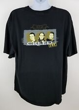Creed Ink Tattoo Original Concert T Shirt w Flip Feature Magazine Rare Size 2Xl