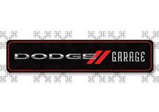 #675 DODGE GARAGE SIGN 20x5cm AUFKLEBER AUTOCOLLANT BUMPER STICKER WERKSTATT