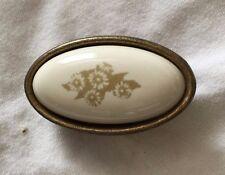 10pcs Ceramic Bronze Wardrobe Cabinet Door and Drawer Handle knobs