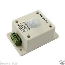 HOT DC 12V-24V 8A Automatic Infrared PIR Motion Sensor Switch For lighting light