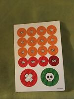 Pokemon TCG Accessory Markers Poison Burn GX  ,COUNTERS 2013 Very Good Shape !!!
