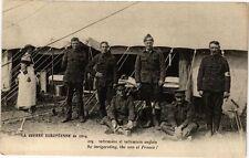 CPA  La Guerre Européenne de 1914 - infirmérie et infirmiers anglais   (222303)