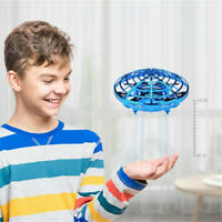 Mini LED Suspension induction aircraft Hand Flying UFO Ball Multiplayer Toy Gift