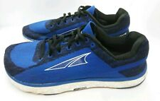 Altra Escalante Ego Men's Sz 8 Blue Black Running Shoes Zero Drop Knit
