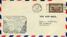 CANADA 1ers vols first flights airmail 16