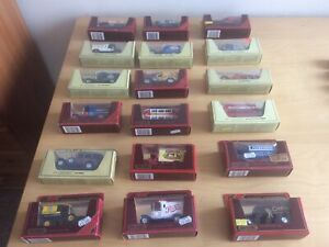 Matchbox Models of Yesteryear Vintage Cars & Vans Lot Of 18