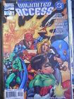 UNLIMITED ACCESS Avengers vs Justice League n°3 1997 ed. DC Marvel Comics [SA5]