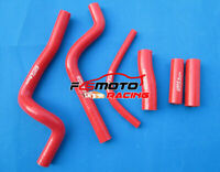 Red silicone radiator hose kit for HONDA CR500 CR500R 1989-1994 89 90 91 92 93