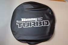 JDM OEM SUZUKI JIMNY SAMURAI Spare Tire Cover Soft BLACK TURBO A GENUINE JAPAN