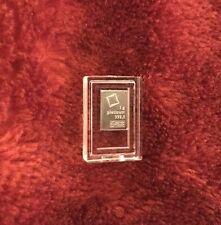 1 Gram Valcambi Platinum bar In Capsule