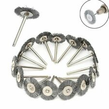 15PCS Steel Wire Wheel Brushes For Metal Rust Removal Polishing Brush 25mm
