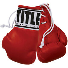 Rex 441-BK Mini-Gloves boxing novelty gift Black pair collectible miniature