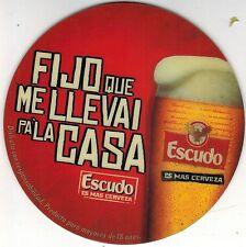 Chile Coaster Beer Escudo Fijo que me llevai pa´la casa
