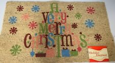 """MOHAWK HOME ® Very Merry Christmas 18"""" x 30"""" Holiday Doormat"""