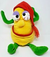 Vintage Video Vegetables Plush Toy 12 Inches YELLOW SQUASH Stuffed Toy Doll