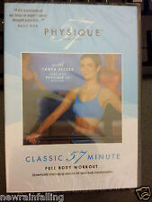 Physique 57 CLASSIC 57 MINUTE 1st Edition Full Body Workout EXERCISE Fitness DVD