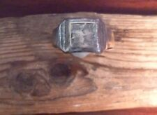 Era And Style-Metal Detecting Find Early 20Th Century Finger Ring Wwi