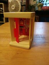 1973 fisher Price Little People Vintage Accessories Telephone Phone Booth 997