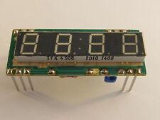 2 Stück TDIO1400 TFK LED Display, 4 Digit, 7,7mm, für Uhren - AE15/9826