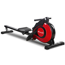 Machine Rowing Rower Exercise Fitness Gym Magnetic Flywheel Home Durable Steel