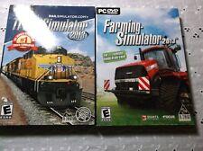 2 PC Simulator 2013 Games - TRAIN Simulator and FARMING Simulator