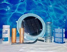 Dr Global Solar Pool Ionizer Safely Kills Algae & Other Organisms using Sun powe