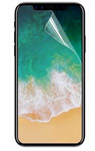2x 100% Plastic Film Screen Protector For Apple iPhone 13 12 Pro Max Mini XR SE