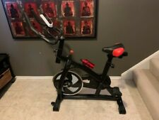 Homgrace Exercise Bike Indoor Cycle Black/Red Used