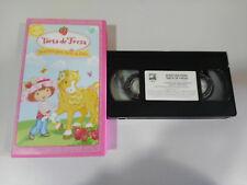 TARTA DE FRESA AVENTURA PARA TARTA DE FRESA INFANTIL VHS CINTA TAPE CASTELLANO