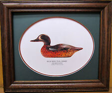Mason Premier Grade Blue Winged Teal Drake Duck Decoy Mason's Decoy Factory!