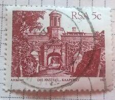 South Africa stamps - Die Kasteel Kapstaad Cape Town - 5c 1983