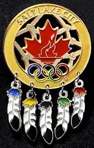 OLYMPIC PIN 2002 SALT LAKE CITY CANADA NOC DREAMCATCHER